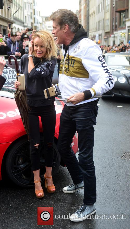 Hayley Roberts and David Hasselhoff 8