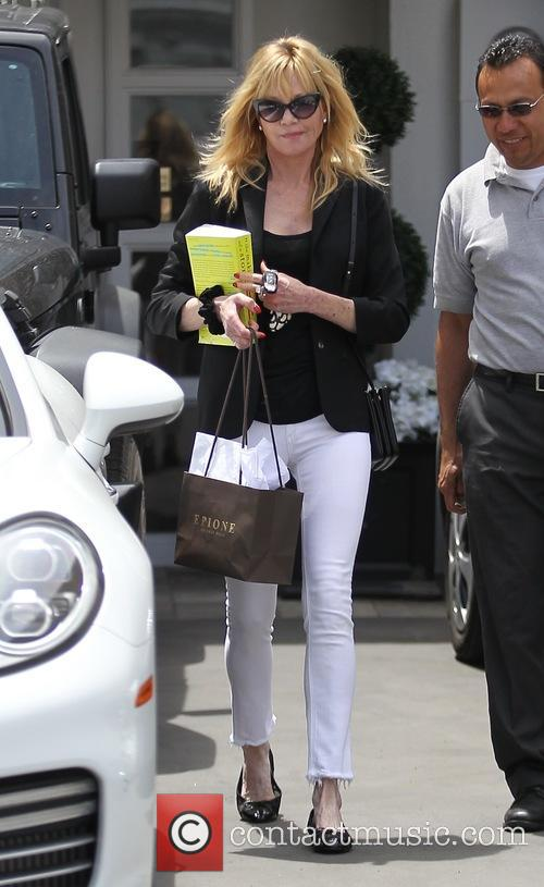 Melanie Griffith leaving Epione in Beverly Hills