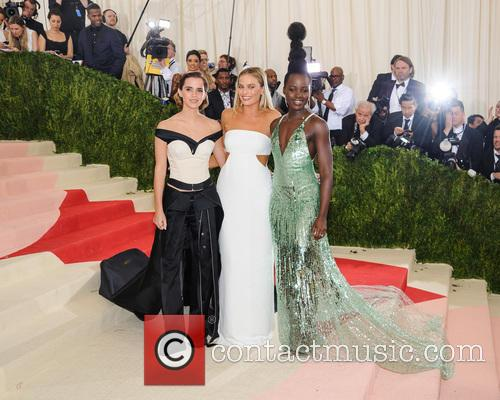 Emma Watson, Margot Robbie and Lupita Nyong'o 2