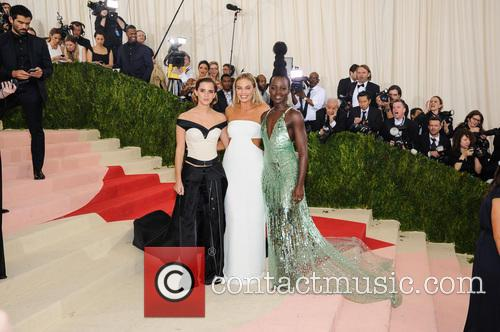 Emma Watson, Margot Robbie and Lupita Nyong'o 3