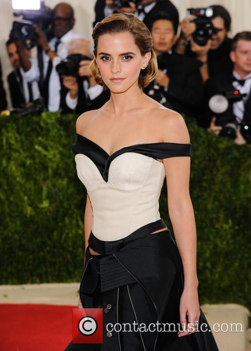 Emma Watson at the Metropolitan Museum of Art Costume Institute Gala in May