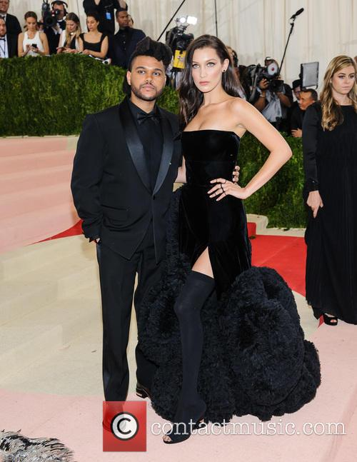 The Weeknd and Bella Hadid 1