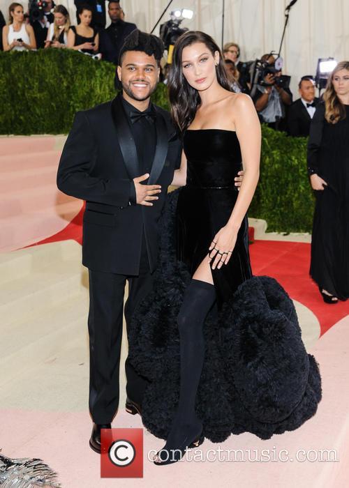 The Weeknd and Bella Hadid 5