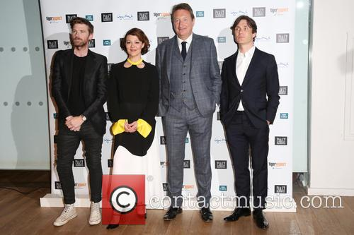 Paul Anderson, Helen Mccrory, Steven Knight and Cillian Murphy 4