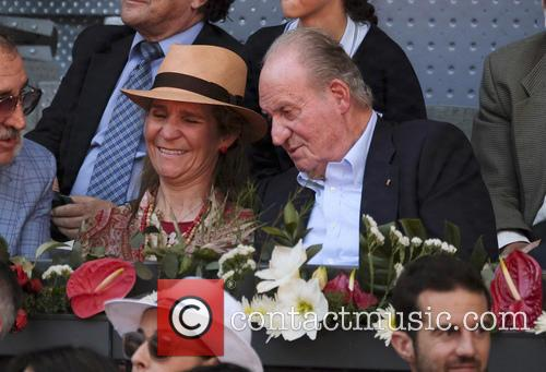 Rafael Nadal, Spain Juan Carlos and Princess Elena De Borbon 2