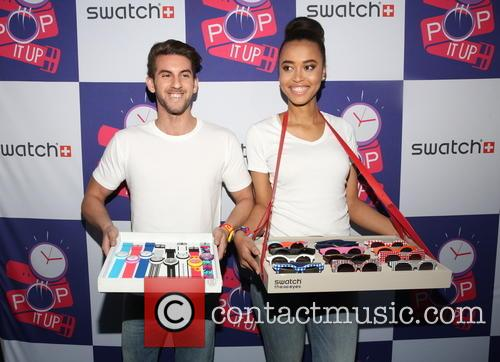 Swatch Times Square opening pop up store