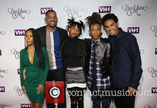 Jada Pinkett-smith, Will Smith, Willow Smith, Jaden and Trey 3
