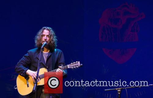 Chris Cornell performing at the Royal Albert Hall