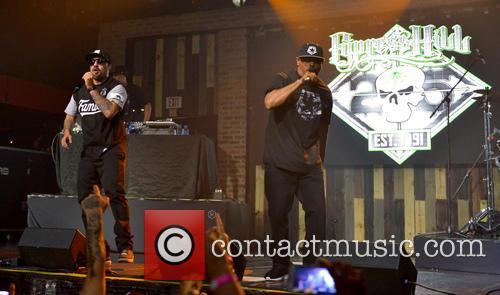 Cypress Hill performing on their 25th anniversary World...