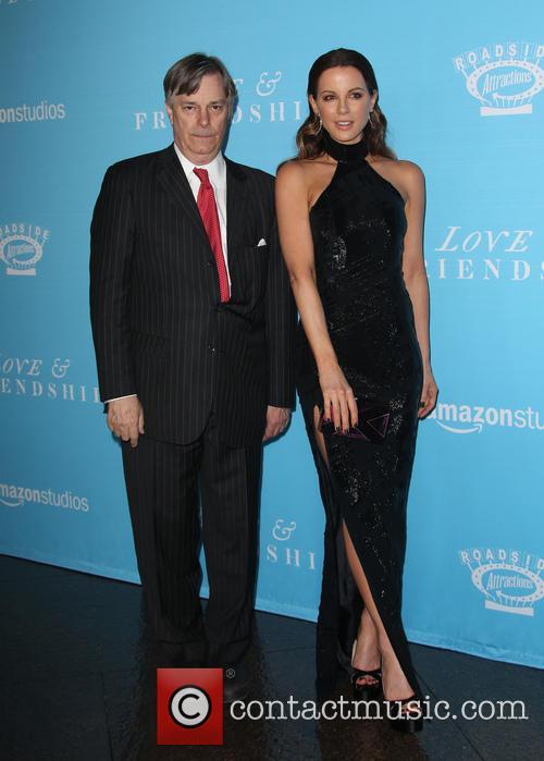 Whit Stillman and Kate Beckinsale 1