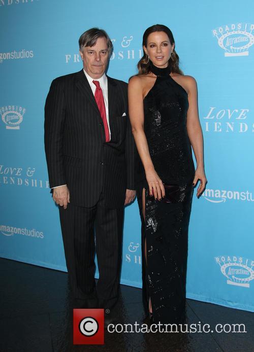 Whit Stillman and Kate Beckinsale 2