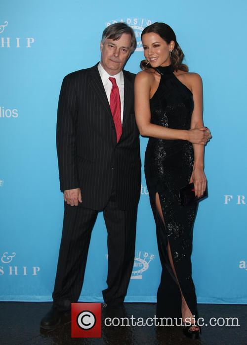 Whit Stillman and Kate Beckinsale 6