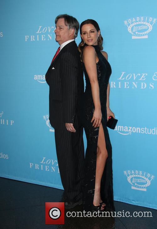 Whit Stillman and Kate Beckinsale 9