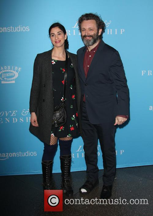 Sarah Silverman and Michael Sheen 1