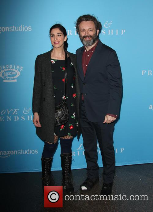 Sarah Silverman and Michael Sheen 2