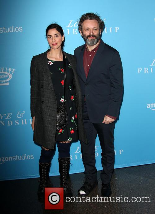 Sarah Silverman and Michael Sheen 4