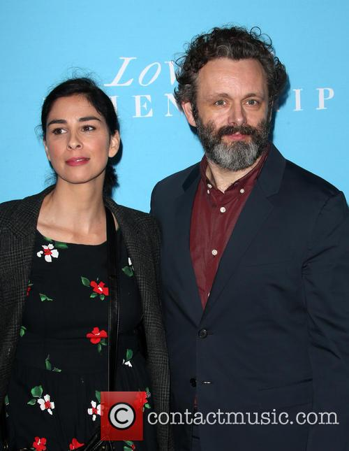 Sarah Silverman and Michael Sheen 5