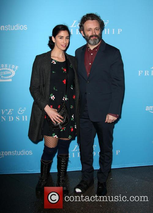 Sarah Silverman and Michael Sheen 6