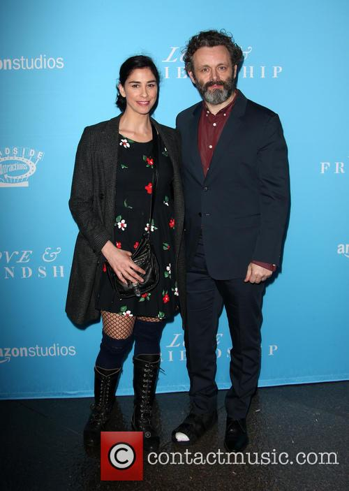 Sarah Silverman and Michael Sheen 7