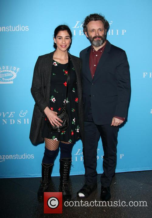 Sarah Silverman and Michael Sheen 9