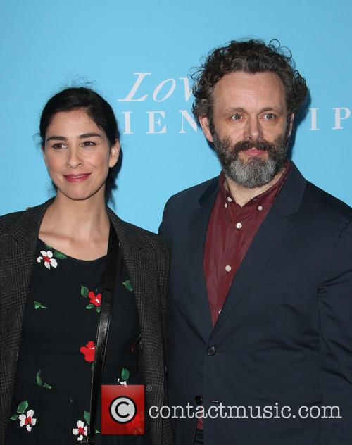 Sarah Silverman and Michael Sheen 11