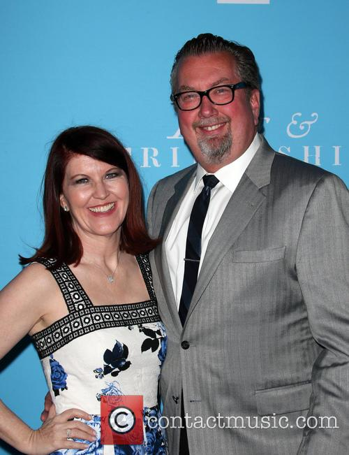 Kate Flannery and Chris Haston 10