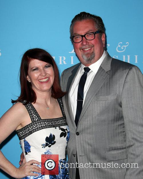 Kate Flannery and Chris Haston 11