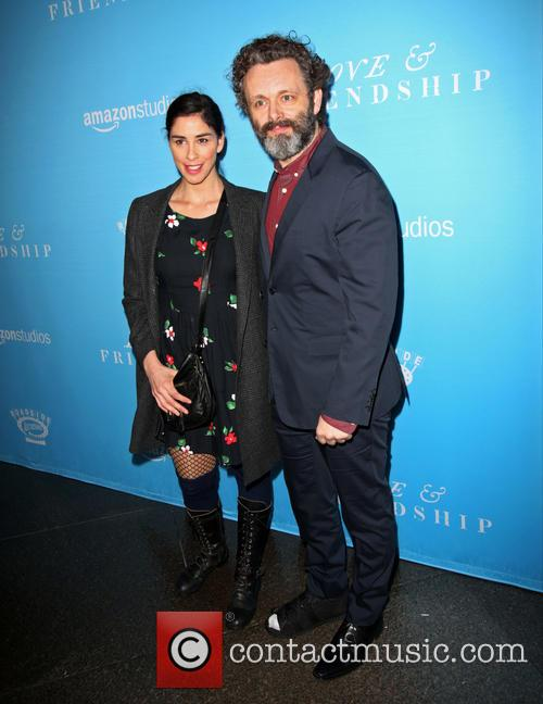 Sarah Silverman and Michael Sheen