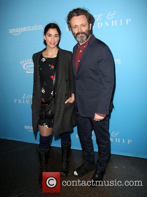 Sarah Silverman and Michael Sheen 3
