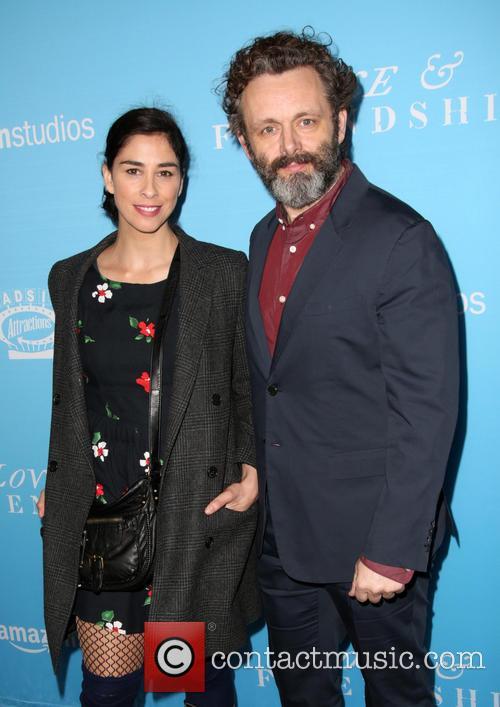 Sarah Silverman and Michael Sheen 4