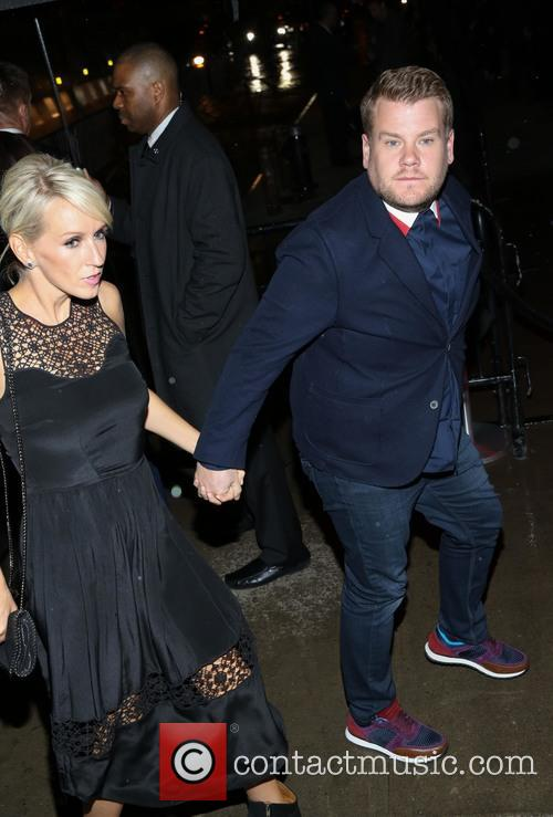 Ellie Goulding and James Corden 2