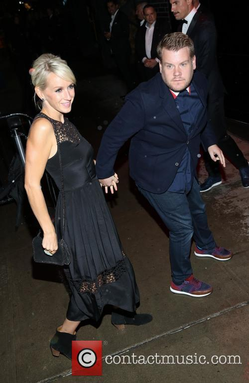 Ellie Goulding and James Corden 3