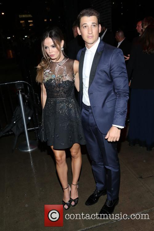 Miles Teller and Keleigh Sperry 2