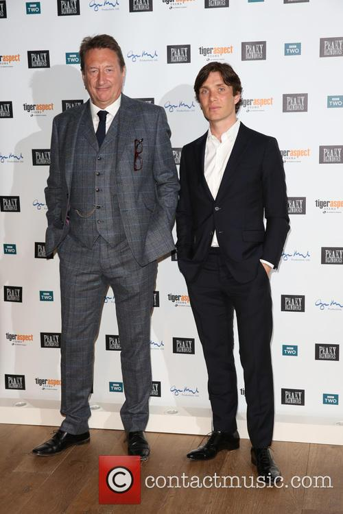 Steven Knight and Cillian Murphy 4