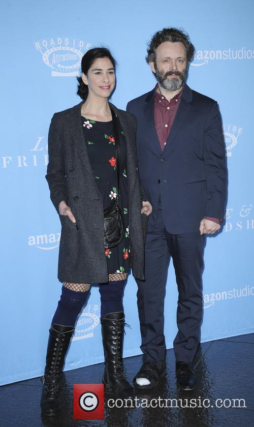 Sarah Silverman and Michael Sheen 3