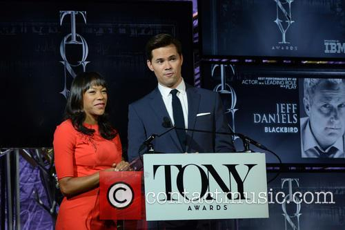Nikki M James and Andrew Rannells 4