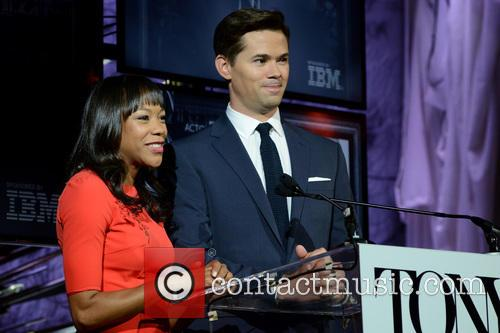 Nikki M James and Andrew Rannells 5