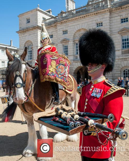 Guards and A Military Drum Horse 5