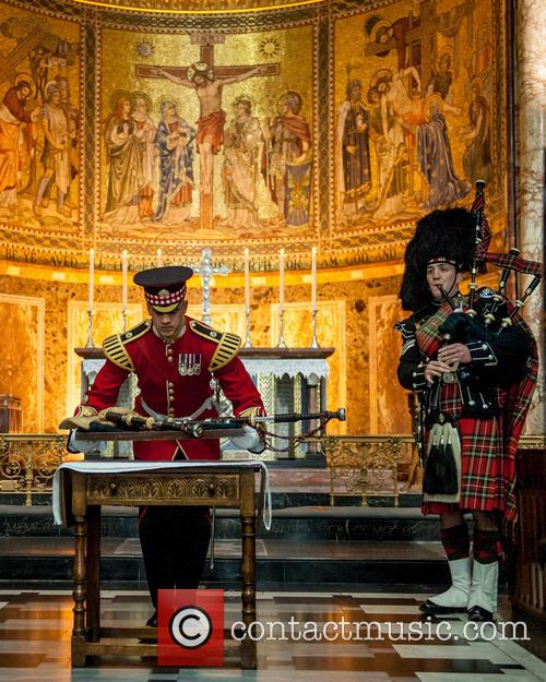 Will Casson-smith, Warrant Officer, First Class Band Master and Piper John Mitchell 11