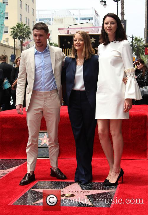Jack O'connell, Jodie Foster and Caitriona Balfe 1