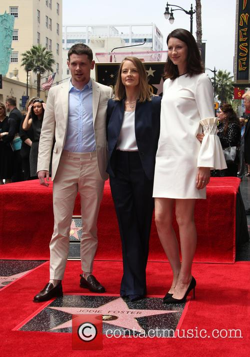 Jack O'connell, Jodie Foster and Caitriona Balfe 6