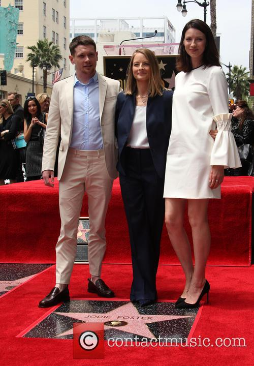 Jack O'connell, Jodie Foster and Caitriona Balfe 9
