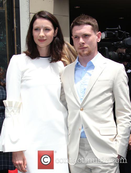 Caitriona Balfe and Leron Gubler 7