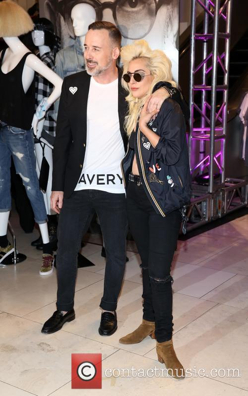 David Furnish and Lady Gaga 3