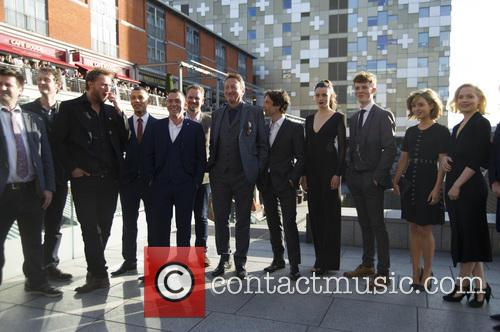 Peaky Blinders Cast, Stephen Knight, Cillian Murphy and Gaite Jansen 5