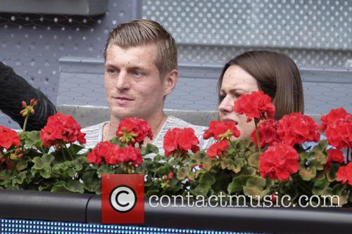 Toni Kroos and Jessica Farber 1