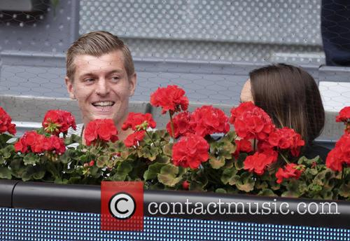 Toni Kroos and Jessica Farber 2