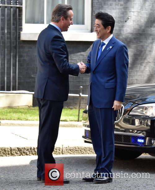 David Cameron and Prime Minister Shinzo Abe 2
