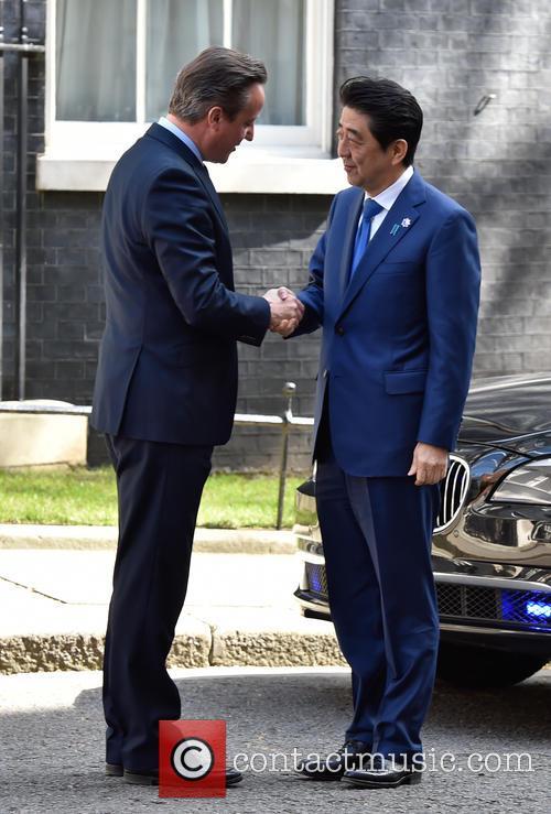 David Cameron and Prime Minister Shinzo Abe 3