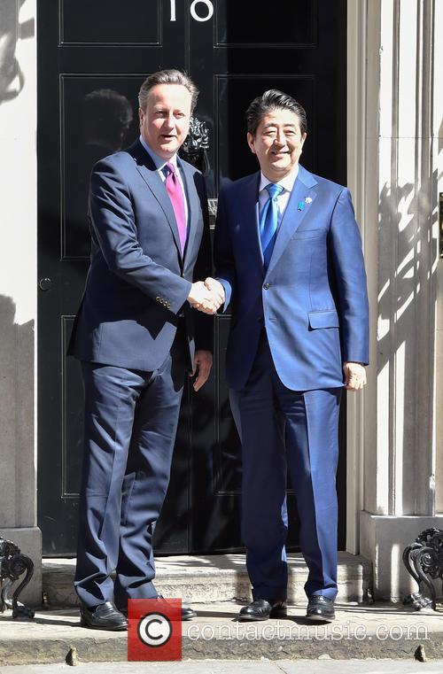 David Cameron and Prime Minister Shinzo Abe 5